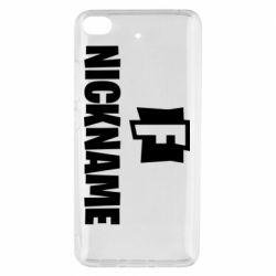 Чехол для Xiaomi Mi 5s Nickname fortnite