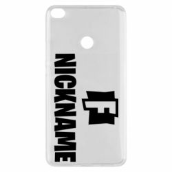 Чехол для Xiaomi Mi Max 2 Nickname fortnite