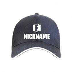 Кепка Nickname fortnite