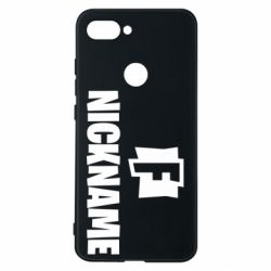 Чехол для Xiaomi Mi8 Lite Nickname fortnite