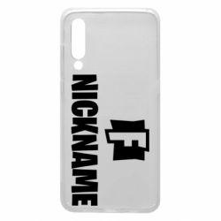 Чехол для Xiaomi Mi9 Nickname fortnite