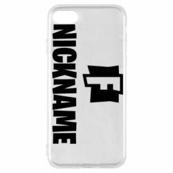 Чехол для iPhone 7 Nickname fortnite