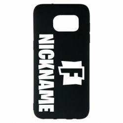 Чехол для Samsung S7 EDGE Nickname fortnite