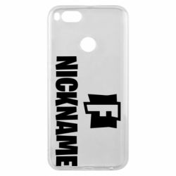 Чехол для Xiaomi Mi A1 Nickname fortnite