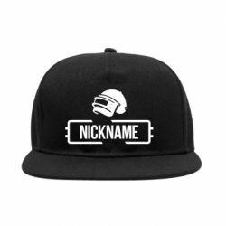Снепбек Nickname helmet pubg