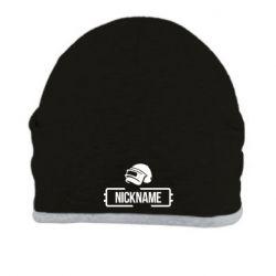 Шапка Nickname helmet pubg