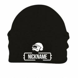 Шапка на флісі Nickname helmet pubg