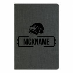 Блокнот А5 Nickname helmet pubg