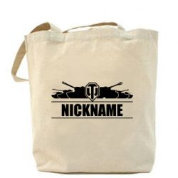Сумка Nickname World of Tanks