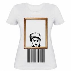 Жіноча футболка Микола Хвильовий - Я (Романтика)