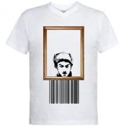 Чоловіча футболка з V-подібним вирізом Микола Хвильовий - Я (Романтика)