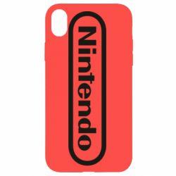 Чохол для iPhone XR Nintendo logo