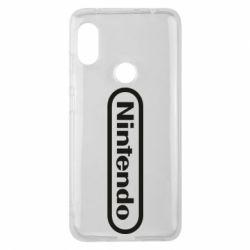 Чохол для Xiaomi Redmi Note Pro 6 Nintendo logo