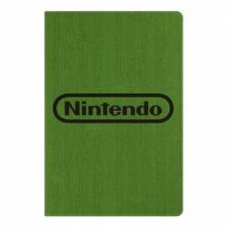 Блокнот А5 Nintendo logo