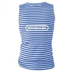 Майка-тільняшка Nintendo logo