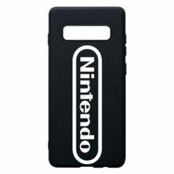 Чохол для Samsung S10+ Nintendo logo