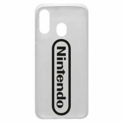 Чохол для Samsung A40 Nintendo logo