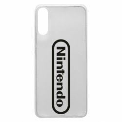 Чохол для Samsung A70 Nintendo logo