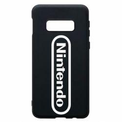Чохол для Samsung S10e Nintendo logo