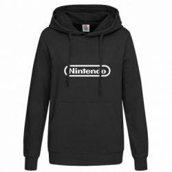Толстовка жіноча Nintendo logo