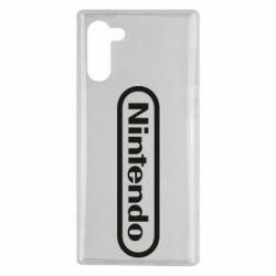 Чохол для Samsung Note 10 Nintendo logo