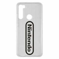 Чохол для Xiaomi Redmi Note 8 Nintendo logo