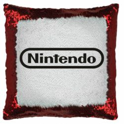 Подушка-хамелеон Nintendo logo