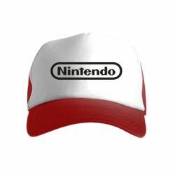 Дитяча кепка-тракер Nintendo logo