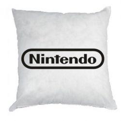 Подушка Nintendo logo