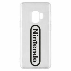 Чохол для Samsung S9 Nintendo logo