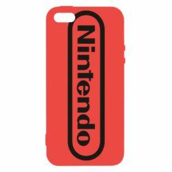 Чохол для iphone 5/5S/SE Nintendo logo