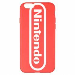 Чохол для iPhone 6 Plus/6S Plus Nintendo logo