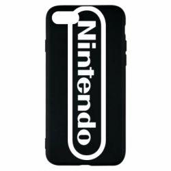 Чохол для iPhone 7 Nintendo logo