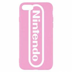 Чохол для iPhone 8 Nintendo logo
