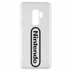Чохол для Samsung S9+ Nintendo logo