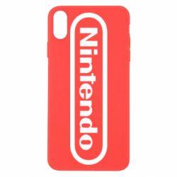 Чохол для iPhone X/Xs Nintendo logo