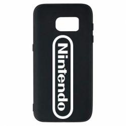 Чохол для Samsung S7 Nintendo logo