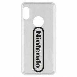 Чохол для Xiaomi Redmi Note 5 Nintendo logo