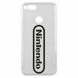 Чохол для Xiaomi Mi A1 Nintendo logo