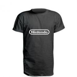 Подовжена футболка Nintendo logo