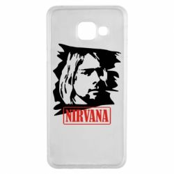 Чехол для Samsung A3 2016 Nirvana Kurt Cobian