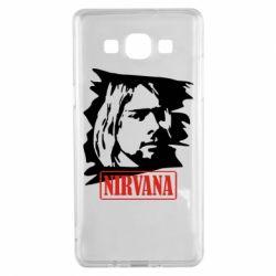 Чехол для Samsung A5 2015 Nirvana Kurt Cobian