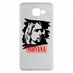Чехол для Samsung A5 2016 Nirvana Kurt Cobian