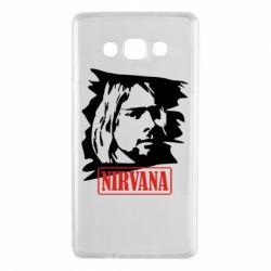 Чехол для Samsung A7 2015 Nirvana Kurt Cobian