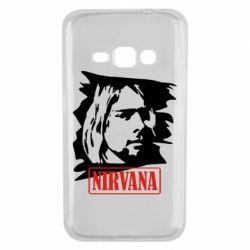 Чехол для Samsung J1 2016 Nirvana Kurt Cobian