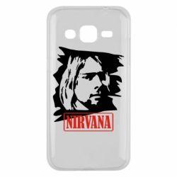 Чехол для Samsung J2 2015 Nirvana Kurt Cobian