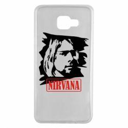 Чехол для Samsung A7 2016 Nirvana Kurt Cobian