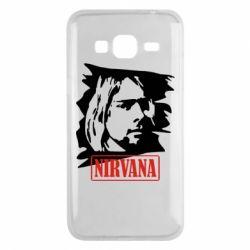 Чехол для Samsung J3 2016 Nirvana Kurt Cobian