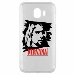 Чехол для Samsung J4 Nirvana Kurt Cobian