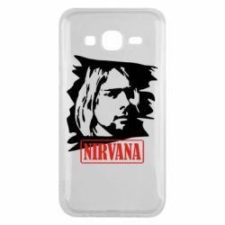 Чехол для Samsung J5 2015 Nirvana Kurt Cobian